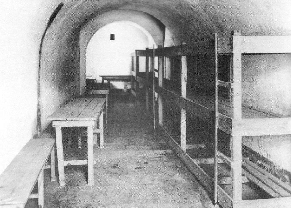 Cela č. 38 v Malé pevnosti Terezín.