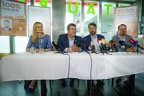 Zahájení volební kampaně ČSSD v Praze.