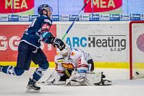Hokejisté Sparty neudrželi v Plzni dvoubrankové vedení a po přestřelce v závěru padli 4:5.