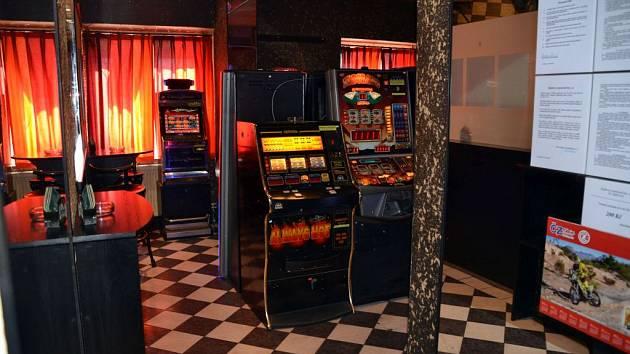 Hrací automaty.