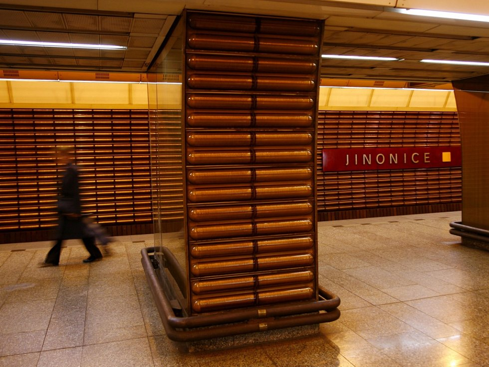Stanice metra Jinonice. Ilustrační foto.