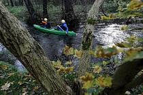Nějvětší pražský potok Botič