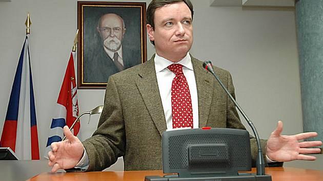 Bývalý hejtman Středočeského kraje David Rath.