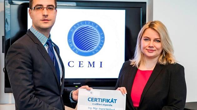 Mezi prvními vybranými do stipendijního programu je i Ingrid Mrňová z pacientského sdružení Unie Roska.