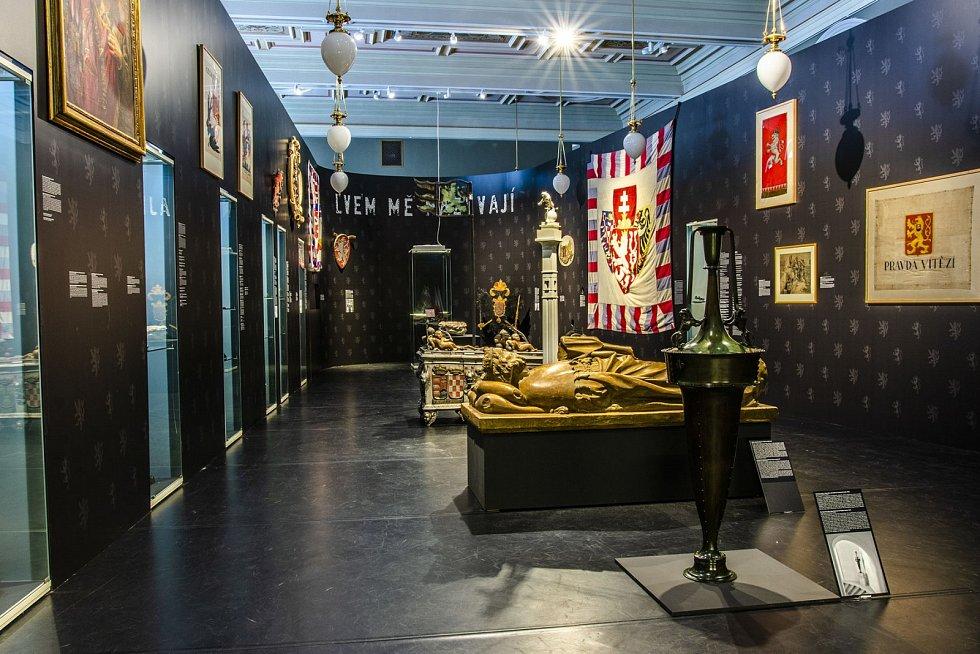 Národní muzeum nabízí spoustu svých výstav online. Snímek z výstavy Lvem mě nazývají.