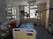 Prohlídka pracoviště chronického srdečního selhání v nemocnici IKEM.