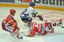 Černá série byla utnuta. V 18. kole hokejové extraligy Slavia prohrála s Vítkovice 3:4.