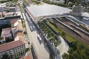Na Smíchově vznikne moderní dopravní terminál. Praha představila novou fázi projektu.