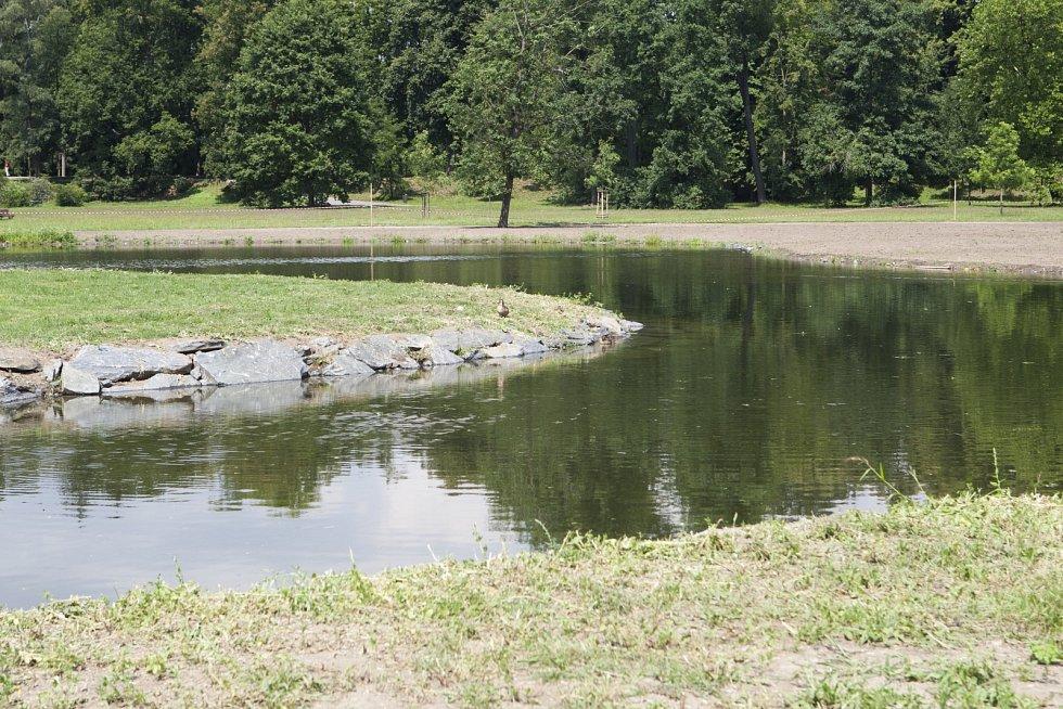 Park Stromovka.