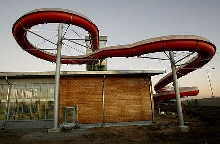 Takto vypadá nově postavený aquapark na Barrandově./Ilustrační foto