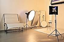Fotografický ateliér. Ilustrační foto,