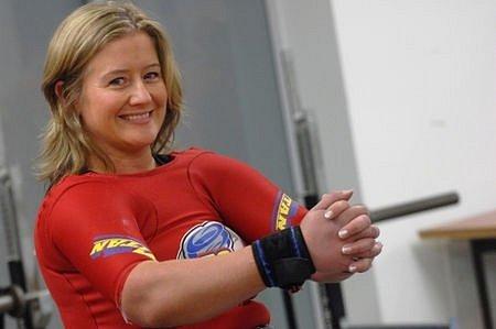 Bente Artsen (Norsko) se umístila na 1. místě v kategorii do 75 kg.