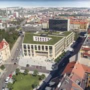 Vizualizace Letná obchodního centra