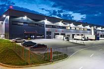 EGRO Logistic Park Prague, Hostivice. 2. místo v kategorii skladové areály.