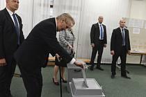Miloš Zeman u voleb do Evropského parlamentu