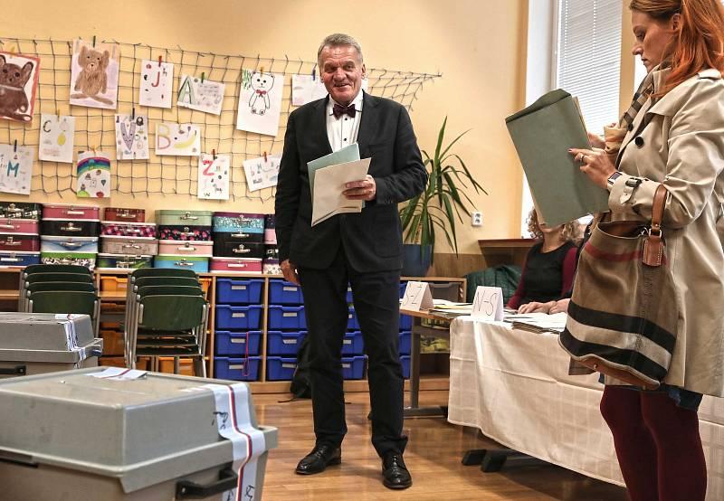 Komunální volby 2018 - ZŠ Sázavská.