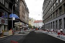Štěpánská ulice v Praze. Ilustrační foto.
