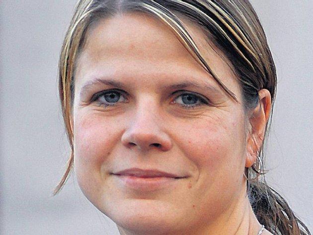Tereza Černianská, kapitánka volejbalistek Tatranu Střešovice.