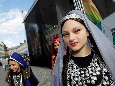 V pondělí skončil mezinárodní folklorní festival Pražský jarmark.