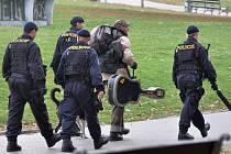 Policejní zátah. Ilustrační foto