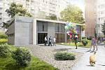 Rodinné a komunitní centrum v Kobylisích – vizualizace