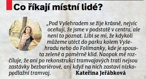 Jak jsme žili vČeskoslovensku - Vyšehrad.  Místní lidé - Kateřina Jeřábková.