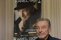 Karel Gott představil své nové album.