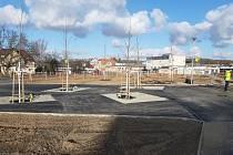 Revitalizace náměstí v Komořanech.