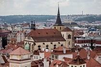 Pohled na Prahu. Ilustrační foto.