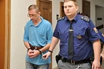 Za bratrovraždu odsouzený Slovák Martin G. u Krajského soudu v Praze.