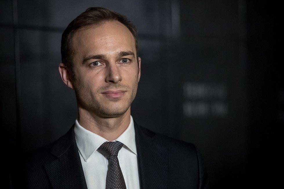Pražské ANO si na sněmu 11. listopadu zvolilo nové vedení, předsedou se stal Jan Říčař (na snímku).