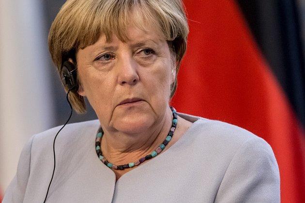 Angela Merkelová vPraze