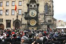Pražský orloj.