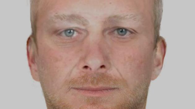 Cyklista podezřelý z loupeže - identikit.