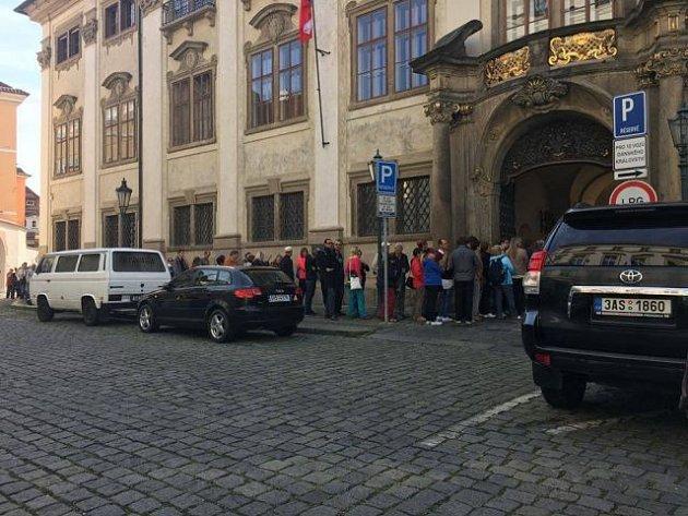 Ve svátek svatého Václava se veřejnosti otevřel Nostický palác.