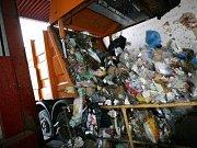 Italské odpadky. Ilustrační foto.