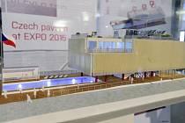 Model českého pavilonu Expo 2015 v Miláně