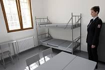 Z otevření nového oddělení výkonu trestu ve Vazební věznici Praha-Pankrác, v objektu číslo 17.