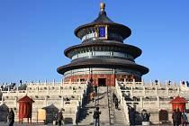 Chrám nebes v historické části Pekingu.