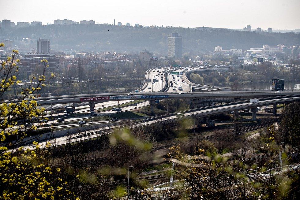 Barrandovský most.