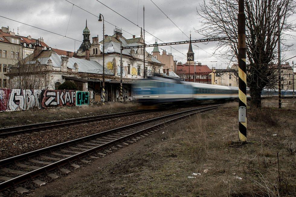 Nádraží Praha-Vyšehrad.