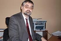 Ivo Mlejnecký, ředitel Základní školy Burešova v Praze 8.