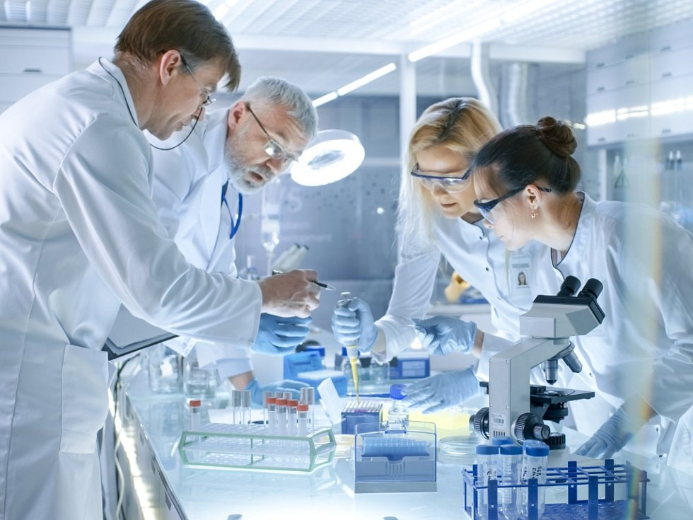 Vědci. Ilustrační foto.