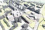 Územní studie Háje počítá s výstavbou v okolí stanice metra i zavřeného multikina Galaxie.