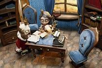 Dekorace pro pohádku Rozum a štěstí v pražském studiu Anima, kde 22. září 2010 vrcholilo natáčení celovečerního loutkového filmu s názvem Fimfárum – Do třetice všeho dobrého.