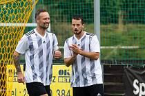 Martin Jiránek vlevo.