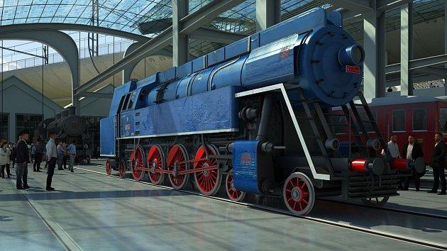 Podoba železničního muzea u Masarykova nádraží se začíná rýsovat.