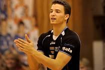 OPORA! Volejbalista ČZU Praha Daniel Pfeffer.