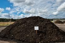 Kompostárna pro bioodpad. Ilustrační foto.
