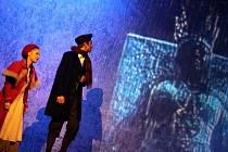 Z muzikálu Sněhová královna v Divadle Hibernia v Praze.